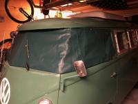 Velvet Green Windshield Cover by Jonce