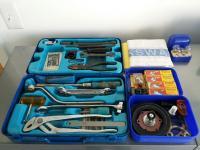Hazet tool kit, bulb kit, spare parts kit