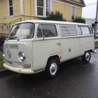'69 Westfalia bus spotted in the wild - Portland, OR, 1/7/17