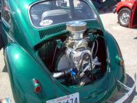 Supercharged Bug's engine