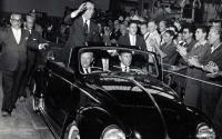 Official inauguration of the first unit VW Brazil on 1959