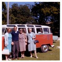 23 Window Deluxe Microbus RHD ? Double Door ? BG SWR Vintage Photo Low Hinge