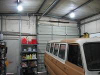 Shop with four 20W E26 bulbs