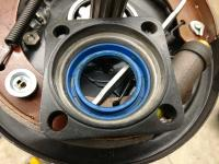 Rear Axle Seal install for early oval or split