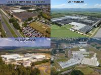 The 4 plants of Volkswagen in Brasil