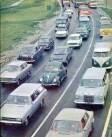 Traffic jam oldtimers