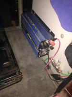 Auxiliary battery install vanagon
