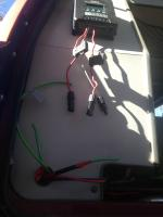 Auxiliary battery and solar install vanagon