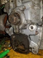 Oil Leak behind crankshaft pulley