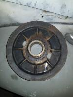 Stock crankshaft pulley