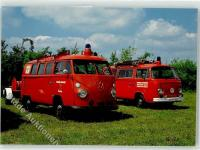 Apensen und Goldbek Fire Dept. VWs