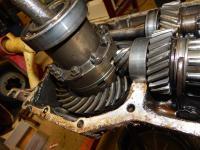 KDF gearbox