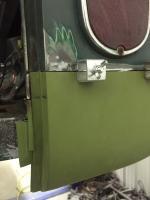 65 single battery tray lower corner