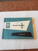 January, 1957 Transporter Service Booklet