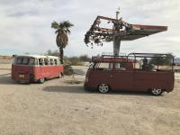 Busses By The Bridge 2018