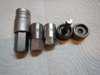 Oil drain plugs and tools for Vanagon