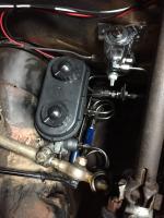 Mopar master cylinder for 4 wheel disc brakes