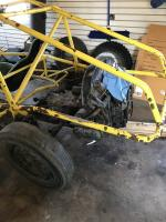 Swing axle/motor