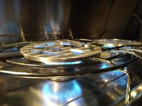 VW stove grates