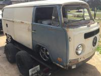 Finally getting my parts bomber on the road before spring 1970 panel van
