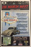 Las Vegas Volkswagen Club March Meet Flyer and Show Art 2018