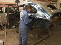 11/56 oval beetle stock restoration