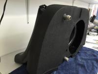 Modified doghouse shroud