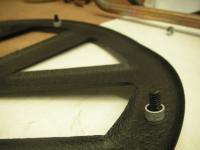Barndoor Front emblem details