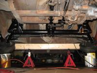 '60 original front beam install