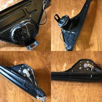 split wiper assembly