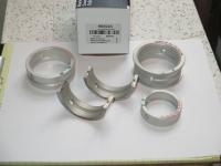 Clevite main bearings with #2 steel backed internal groove