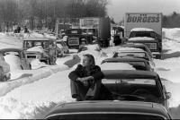 VW in Blizzard of 1978