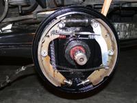 Syncro rear brakes