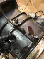 1975 bus final drive, under air deflector plate