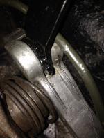 brake pedal push rod