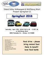 Springfest 2018 flyer