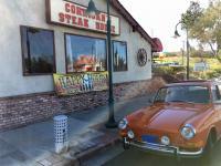 At Crash Corrigan's steak house