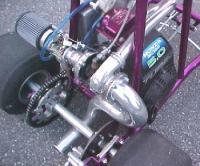 Turbo Bar Stool built by bored VW guy