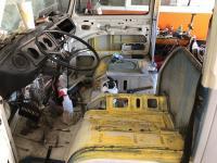 VW BUS Walk through structural reinforcement