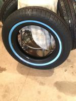 Vitour 165R15 white wall tires