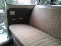1966 Teak cloth Backseat