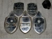 Wolfsburg crest hood emlem