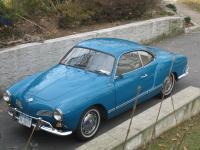1966 Karmann Ghia Coupe - in sea blue