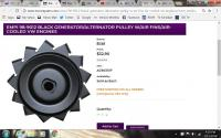 bug alt pulley with fan