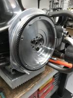 """Kep custom 9"""" flywheel"""