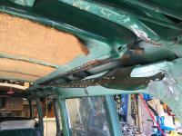 69 Bay Window Deluxe Removing Sliding Sunroof Lower Pan