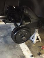 Rear brakes before wide 5 conversion
