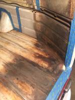 1971 VW Bus Floor Rust Treatment & Paint