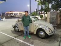 1960 Jade Green bug,