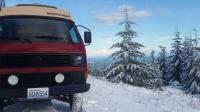 Escapod in the snow